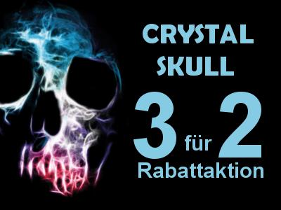 Räuchermischung Kräutermischung Crystal Skull Gratis