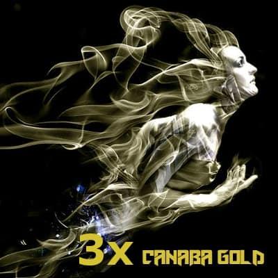 Räuchermischung Kräutermischung 3x Canaba Gold 1